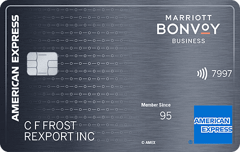 Marriott Bonvoy Business Credit Card from American Express