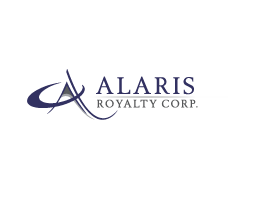 Alaris Royalty logo