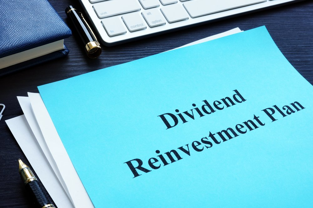 What is a dividend reinvestment plan?