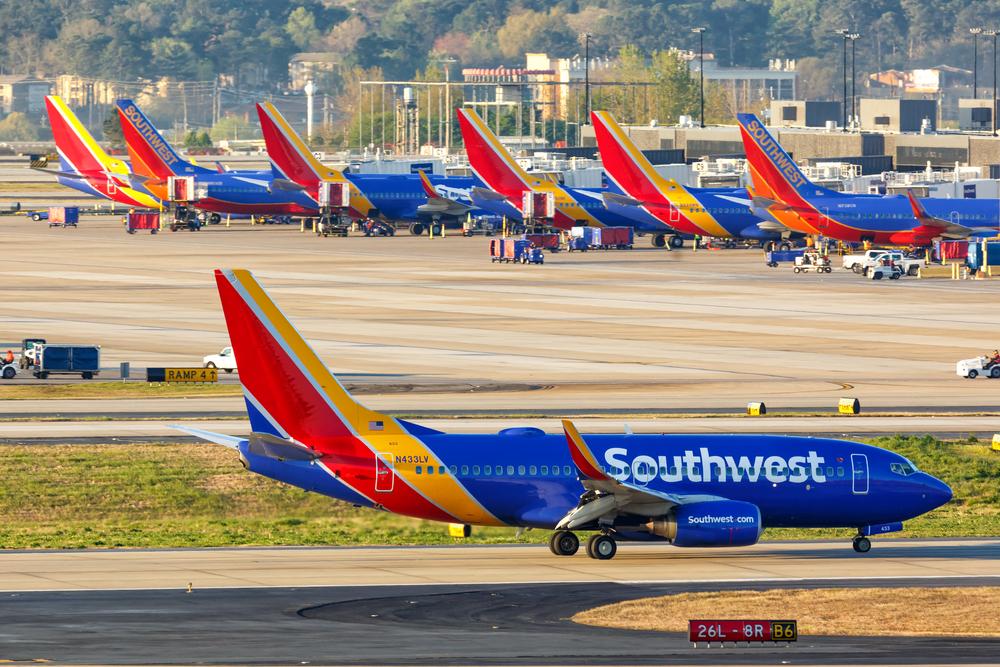 Southwest Shares Flying High