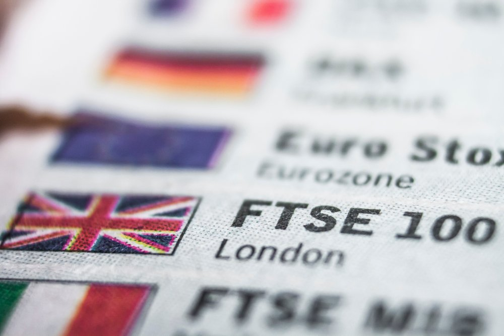 What is the FTSE 100 index?