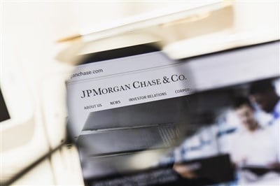 JPMorgan Flat After Blow-Out Quarter