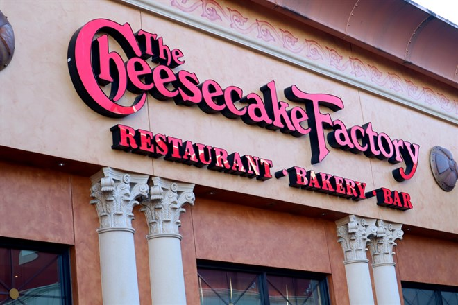 Cheesecake Factory Notches Up After Upgrade