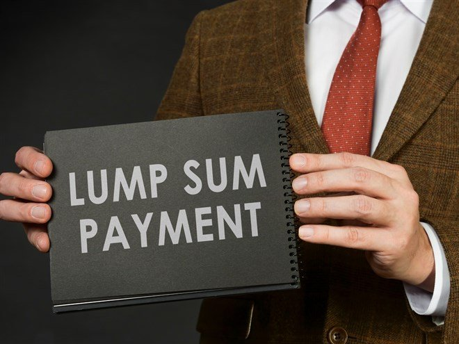 Received a Lump Sum of Money? Here