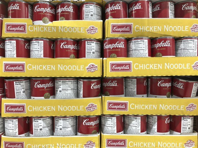 Campbells Shares In The Soup With Post-Earnings Plunge