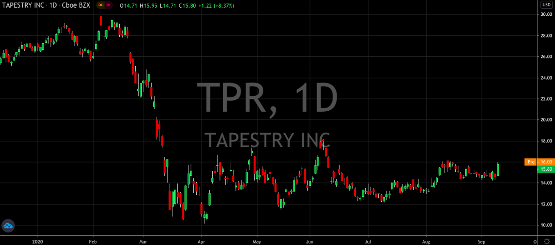 Why Was Tapestry The Top Performer In The S&P 500 Yesterday?