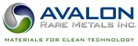 Avalon Rare Metals Inc (US listing) logo
