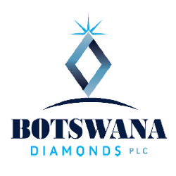 Botswana Diamonds logo