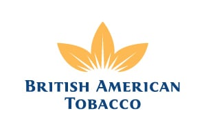 BRITISH AMERICAN TOBACCO PLC ADS Common Stock logo