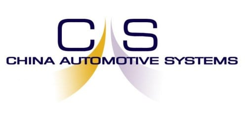 China Automotive Systems logo