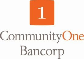 CommunityOne Bancorp logo