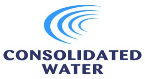 Consolidated Water logo