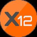 X12 Coin logo
