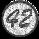 42-coin logo