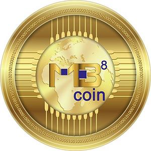 MB8 Coin logo