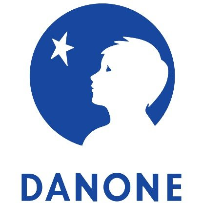 Danone Sponsored ADR common stock logo