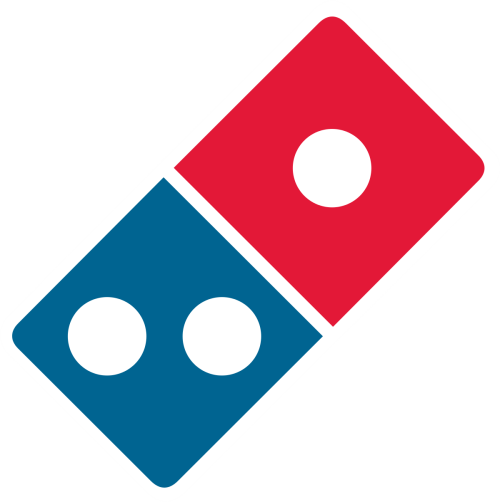 DOMINOS PIZZA U/ADR logo