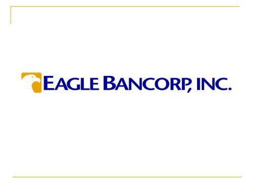 Nasdaqegbn Eagle Bancorp Stock Price Price Target More