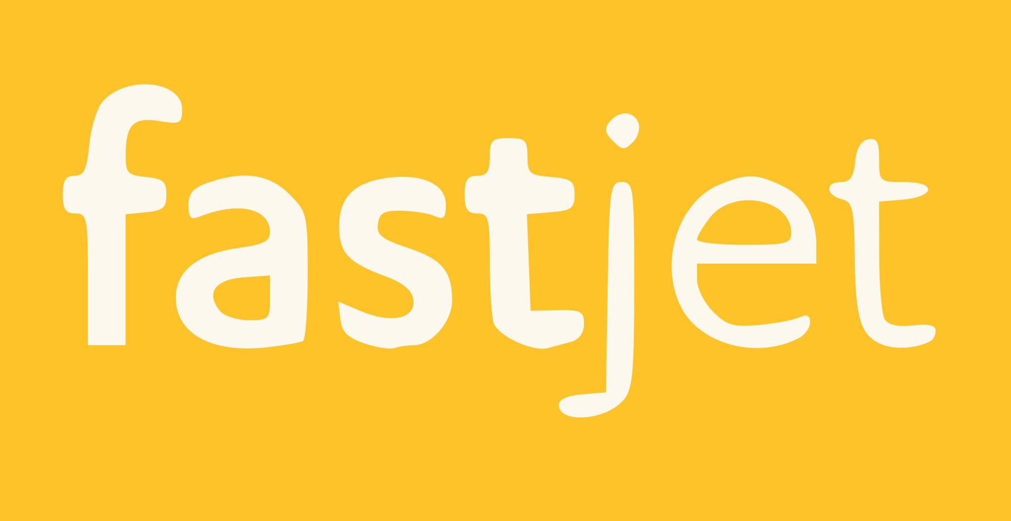 Fastjet PLC logo