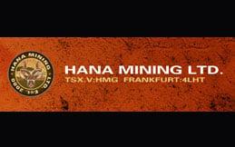 Hana Mining logo