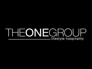 The ONE Group Hospitality logo