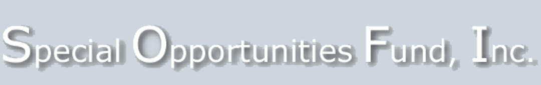 Special Opportunities Fund, Inc. Common Stock logo