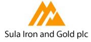 Sula Iron and Gold PLC logo