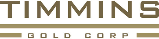 Timmins Gold Corp logo