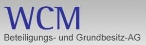 WCM Beteiligungs und Grundbesitz logo