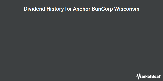 Dividend Payments by Quarter for Anchor BanCorp Wisconsin Inc (DE) (NASDAQ:ABCW)