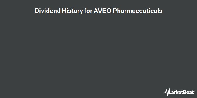 Dividend Payments by Quarter for AVEO Pharmaceuticals (NASDAQ:AVEO)