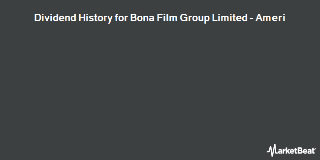 Dividend Payments by Quarter for Bona Film Group Ltd (NASDAQ:BONA)