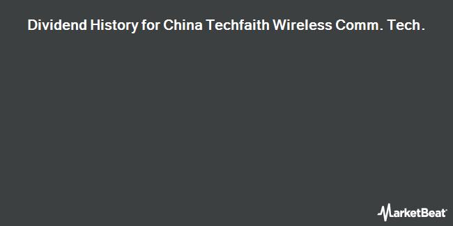 Dividend Payments by Quarter for China Techfaith Wireless Comm. Tech. Ltd (NASDAQ:CNTF)