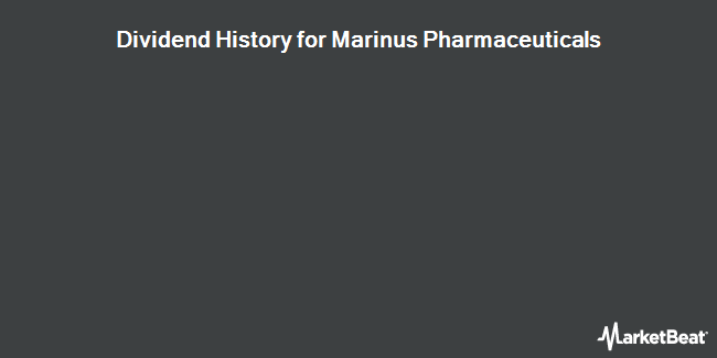 Dividend Payments by Quarter for Marinus Pharmaceuticals (NASDAQ:MRNS)