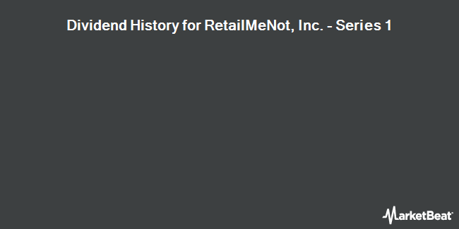 Dividend Payments by Quarter for RetailMeNot (NASDAQ:SALE)
