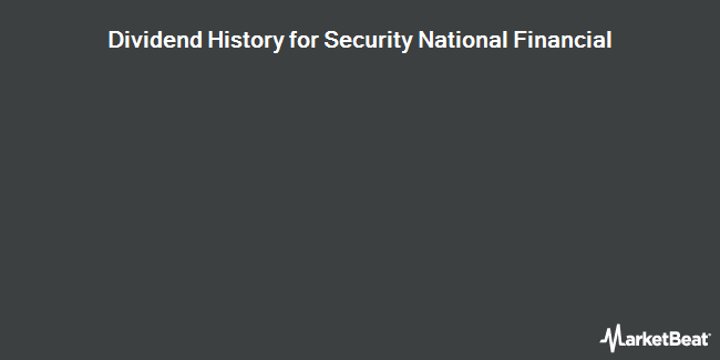 Dividend Payments by Quarter for Security National Financial Corp (NASDAQ:SNFCA)
