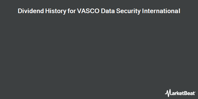 Dividend Payments by Quarter for VASCO Data Security International (NASDAQ:VDSI)
