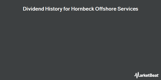 Dividend Payments by Quarter for Hornbeck Offshore Services (NYSE:HOS)