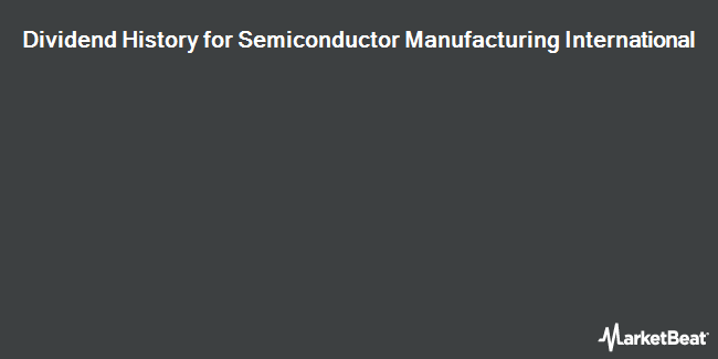 Dividend Payments by Quarter for Semiconductor Manufacturing Int`l (NYSE:SMI)
