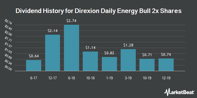 Dividend Payments by Quarter for Direxion Shares Exchange Traded Fund Trust (NYSEARCA:ERX)