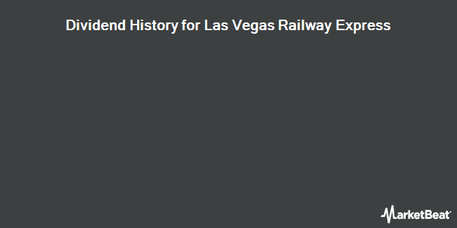 Dividend Payments by Quarter for Las Vegas Railway Express (OTCMKTS:XTRN)