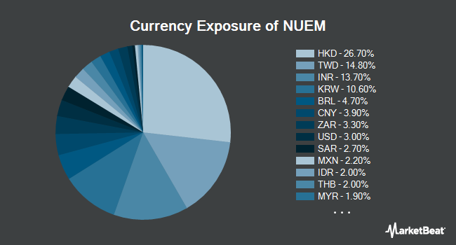 Currency Exposure of NuShares ESG Emerging Markets Equity ETF (BATS:NUEM)