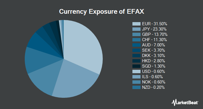 Currency Exposure of SPDR MSCI EAFE Fossil Fuel Reserves Free ETF (NYSEARCA:EFAX)