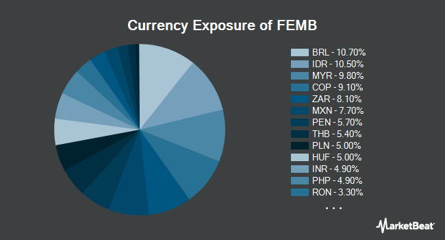 Currency Exposure of First Trust Emerging Markets Local Currency Bond ETF (NYSEARCA:FEMB)