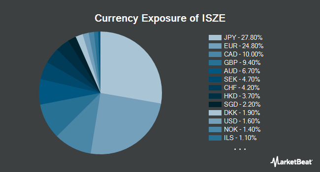 Currency Exposure of iShares Edge MSCI Intl Size Factor ETF (NYSEARCA:ISZE)