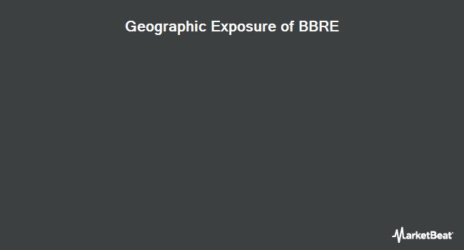 Geographic Exposure of JPMorgan BetaBuilders MSCI US REIT ETF (BATS:BBRE)