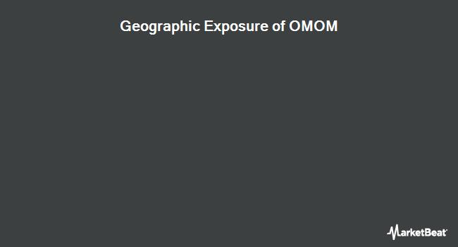 Geographic Exposure of Invesco Russell 1000 Momentum Factor ETF (BATS:OMOM)