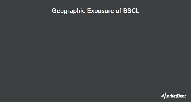 Geographic Exposure of Invesco BulletShares 2021 Corporate Bond ETF (NYSEARCA:BSCL)