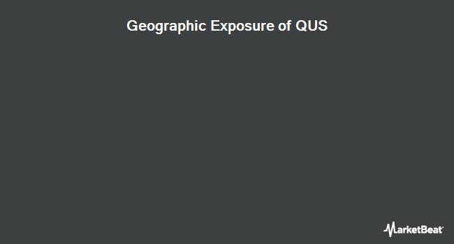 Geographic Exposure of SPDR MSCI USA StrategicFactors ETF (NYSEARCA:QUS)