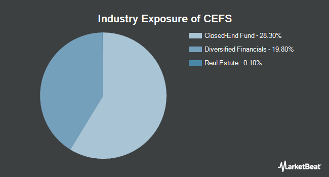 Industry Exposure of Saba Closed-End Funds ETF (BATS:CEFS)
